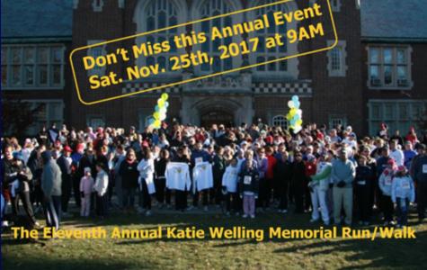 11th Annual Katie Welling Memorial Run/Walk-November 25, 2017