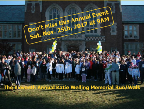 11th Annual Katie Welling Memorial Run/Walk-November 25, 2017