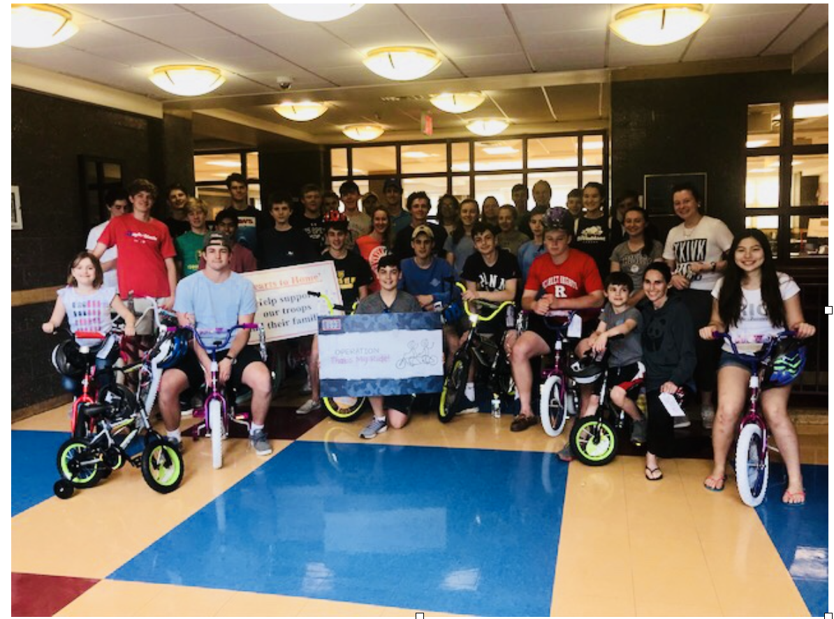 Hearts to Homes Continues Its Spring Tradition of Building Bikes for Families of the U.S. Military