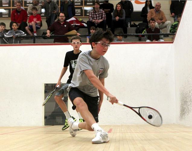 US Squash National Championships: Conner Stoltz
