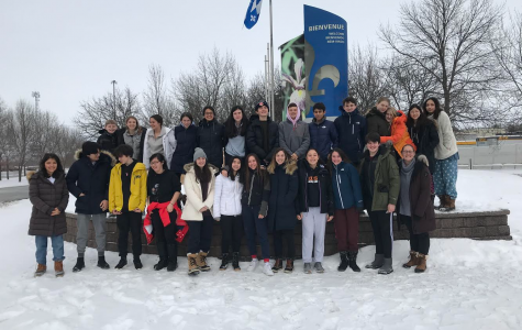 The 2020 French Class Trip to Quebec