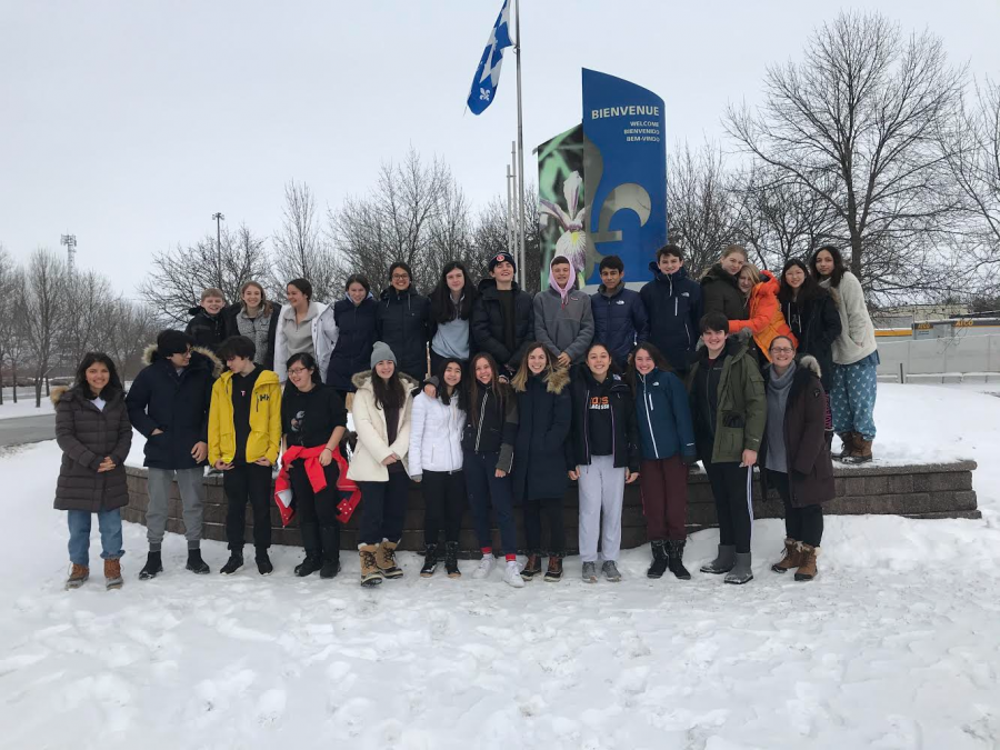 The+2020+French+Class+Trip+to+Quebec