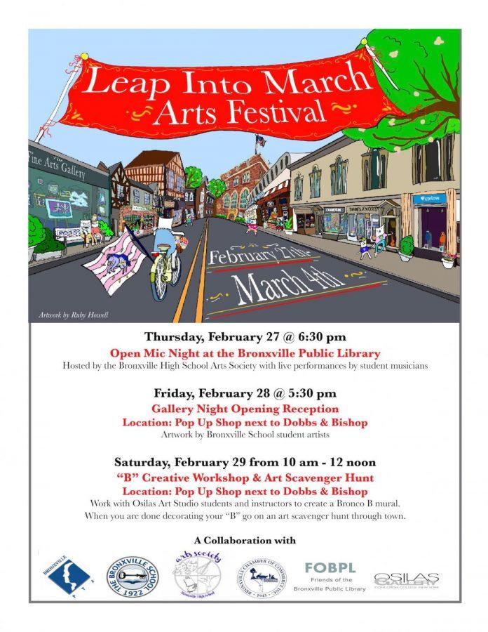 Leap Into March Arts Festival