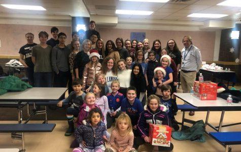 Habitat club during their holiday fundraiser
