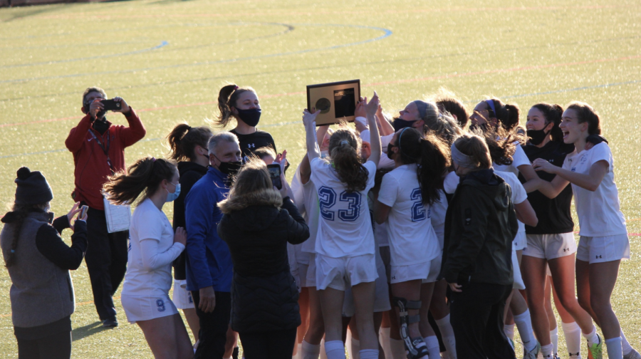 Bronxville Girls Varsity Soccer Team Wins the Section Title